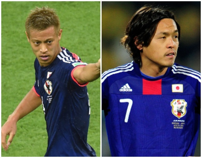 アジア選手のW杯ベストゴール候補に、遠藤保仁と本田圭佑がノミネート!「スローモーションのように…」