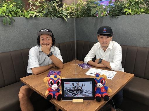 【FC東京】『青赤パークオンライン』が累計放送時間100時間突破