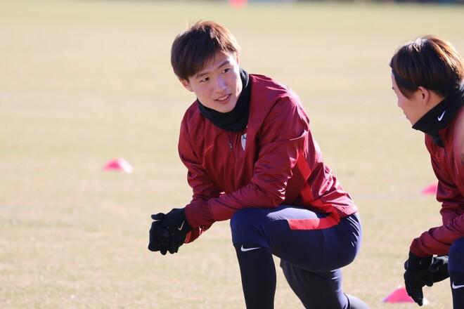【鹿島】自慢のボール奪取の改良に取り組む三竿健斗。「去年とは違った姿を見せたい」