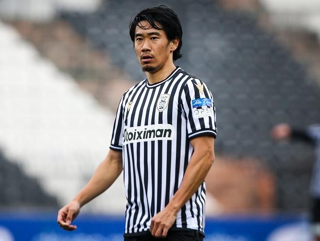 香川真司がPAOK移籍後7試合目で初スタメン!カップ戦でトップ下での起用が濃厚
