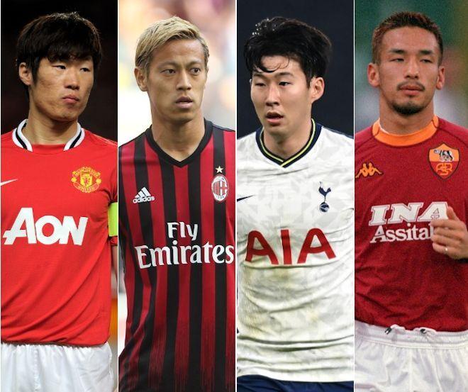 「史上最高のアジア選手トップ20」を英メディアが選出! 日本から最多の7人がランクイン、ソン・フンミンを抑えての1位は?