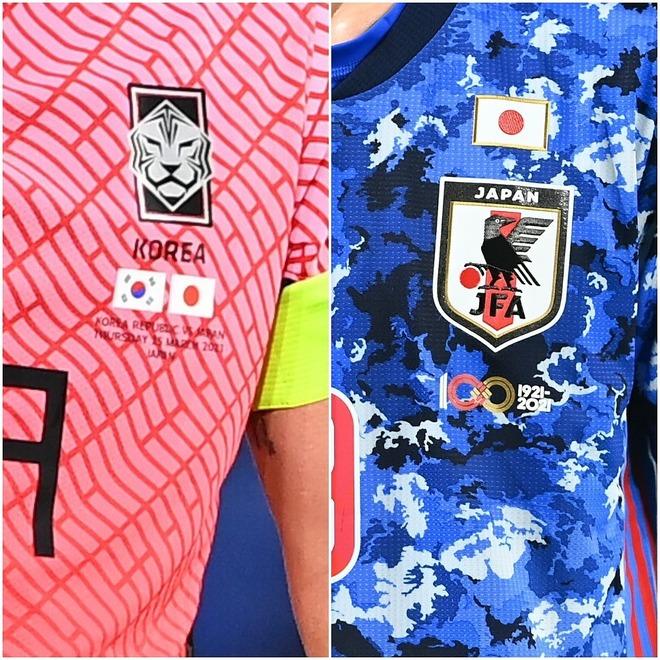 """「日本国旗なんてふざけるな!」韓国代表ユニの胸元に刻まれた""""世界基準""""がまさかの大炎上!「自尊心はどこへ?」"""