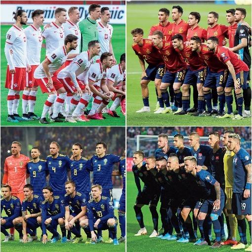 【EURO展望 グループE】最大の注目は大本命スペインに次ぐ二番手争いだ