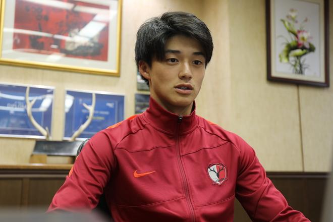 「きれいなことをするのではなく」鹿島右SB常本佳吾、YS横浜との天皇杯2回戦は「泥臭く」戦う覚悟