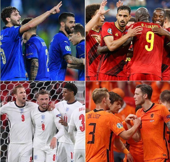 EUROのベスト16が決定! イングランド対ドイツ、ベルギー対ポルトガルなどの好カードが決勝T1回戦で実現
