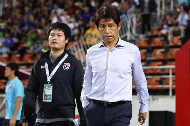 「失敗に終わった」西野監督解任に韓国メディアが言及。タイ国内では「ベトナムより下」と嘆き