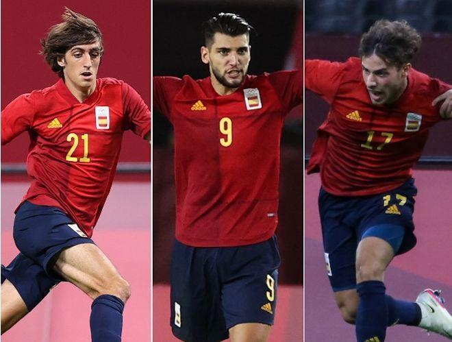 香川、岡崎、乾…日本の名手を追いやった実力者が控えにいる、U-24スペイン代表の充実【東京五輪】