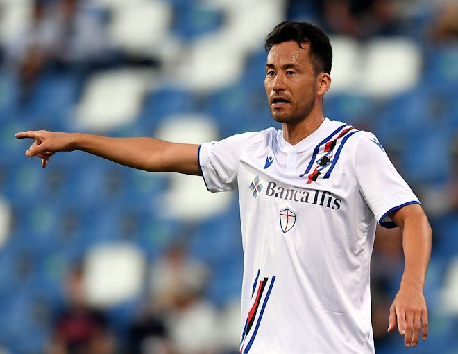 「真のCFのようなヘッド」ユーベから得点の吉田麻也を伊メディア称賛!「美しいゴールだ」