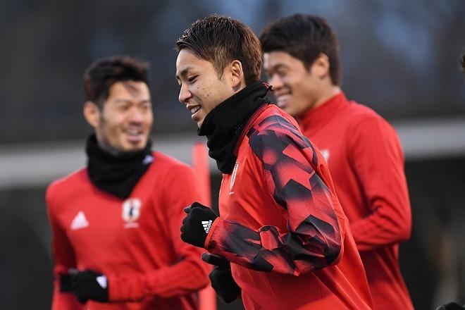 【日本代表】CF起用にイメージを膨らませる小林悠。「真ん中に入ったら…」と意識するポイントは?