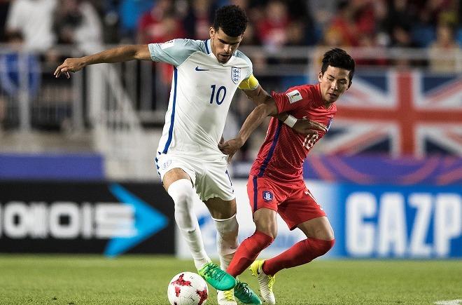 【U-20】韓国、最終節に2位転落。バルサ組温存でイングランドに敗戦
