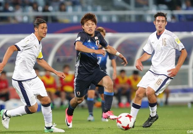 堂安律がイタリア相手に衝撃の4人抜き弾!日本が2点差追いつき決勝トーナメント進出/U20W杯