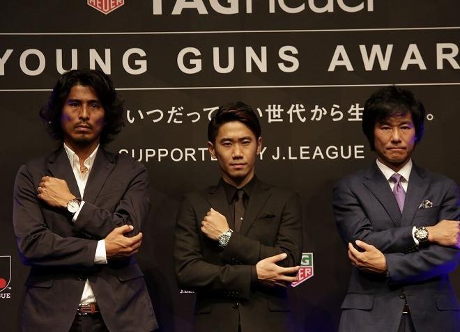 『タグ・ホイヤー』イベントで引退示唆の中澤にゴン中山「あと10年できるだろ!」とツッコミ。その時、香川は…