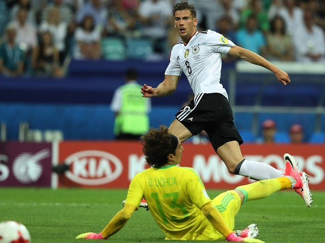 【コンフェデ杯】ドイツ、大勝で初の決勝へ! 殊勲の2発ゴレツカはチリとの再戦に「違う姿を見せたい」