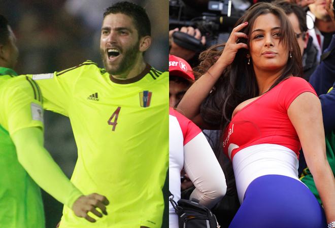 """パラグアイ美女の""""誘惑""""に打ち勝ったベネズエラ!  試合前日の奇妙な出来事とは?"""