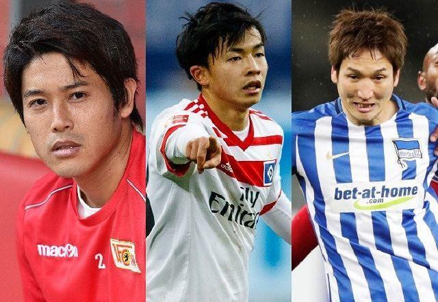 久々出場の原口、内田に移籍報道、伊藤は契約延長! 他のブンデス日本人の契約状況は!?