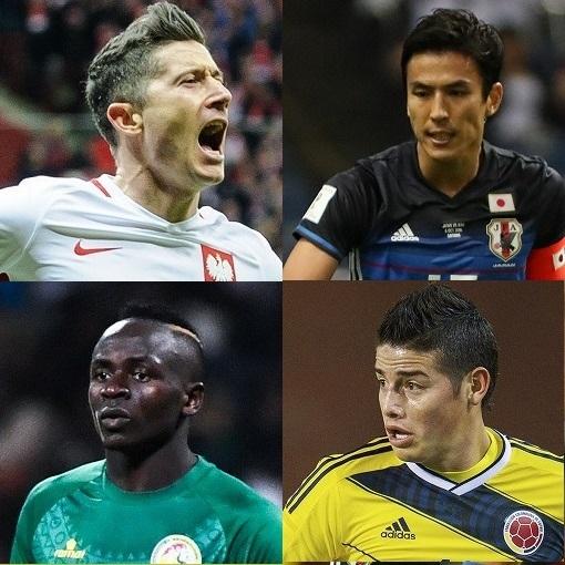 最新FIFAランキング、日本は56位。W杯で同組の3か国とは大きな差