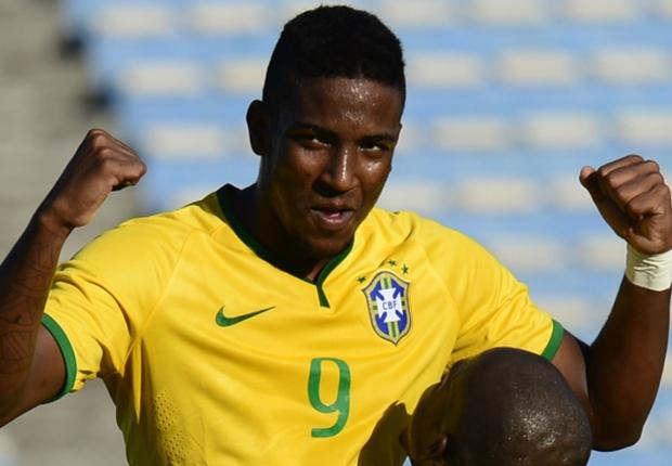 新潟、22歳大型FWターレスの加入を発表…U-21ブラジル代表に選出歴あり