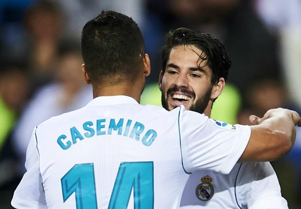 マラガ戦2点目を決めたカセミロ、お膳立てしたイスコを称賛「彼の魔法を楽しまなくては」