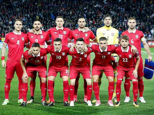 セルビア代表がロシアW杯出場23選手を発表! タレント揃いだが怪我のナスタシッチは間に合わず…