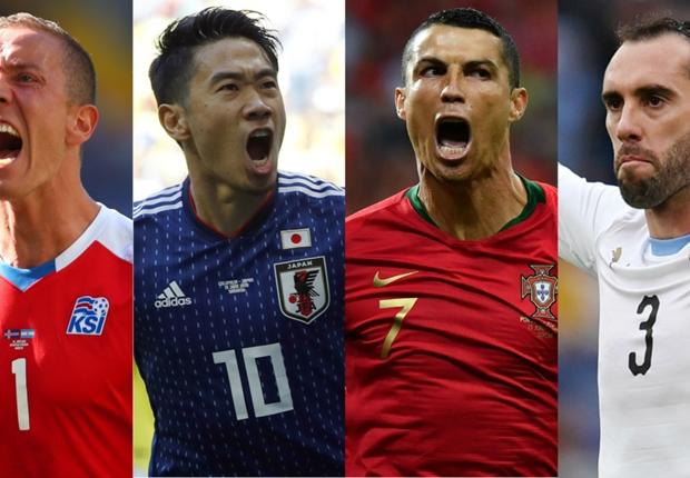 英メディアがW杯第1節のベスト11を発表!日本代表からは香川真司が選出