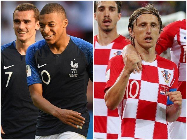 【決定カード・ロシアW杯決勝】フランス×クロアチア 対照的な道のりを辿ってきたチーム同士の最終決戦!