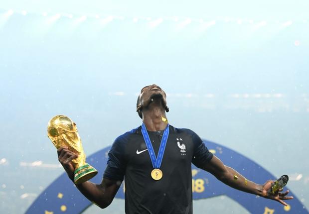 ポグバ、フランス20年ぶりW杯制覇に感極まる「改めて感謝したい。言葉がないよ」