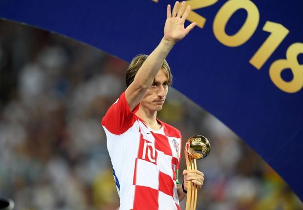 準優勝も胸を張るクロアチア主将モドリッチ「誇りに思うよ。すべての人に感謝したい」