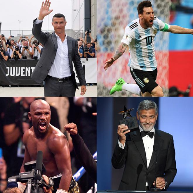 最も儲かったサッカー選手はクリロナorメッシ? 米誌が「最も稼いでいるセレブリティー100人」を紹介