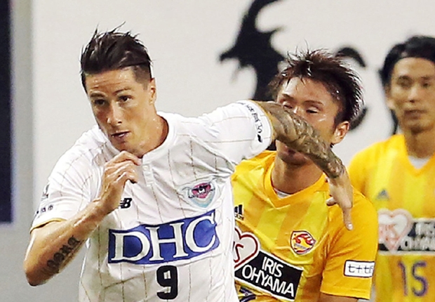 欧州有数の熱狂的スタジアムでプレーしてきたF・トーレス、日本の応援に感動「雰囲気素晴らしい」
