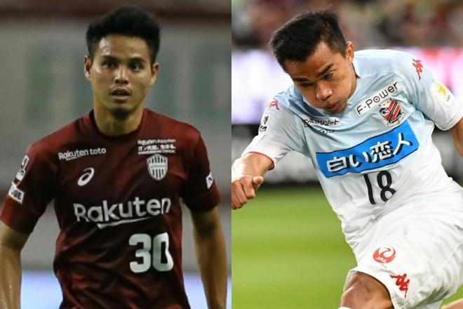 Jリーグで活躍するタイ人サッカー選手の画像