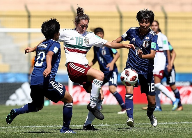 【U-17女子W杯】日本、メキシコに1-1ドローもGL首位で決勝T進出!! 2大会ぶりの優勝へ、一歩前進!