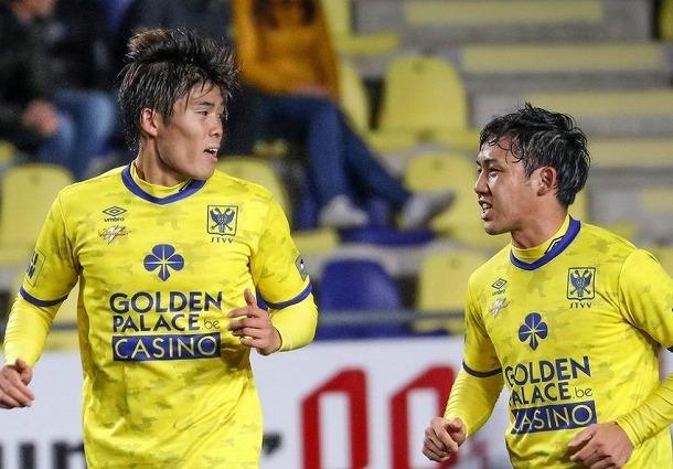 アジアカップ日本代表にベルギー・STVVからは2名選出! リーグ戦10ゴールの鎌田大地は招集されず