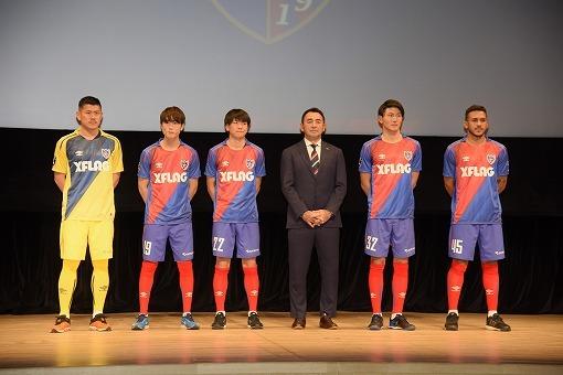 【FC東京|新体制】ユニホームのコンセプトは「Next stage」。新たな胸ロゴは『XFLAG』に
