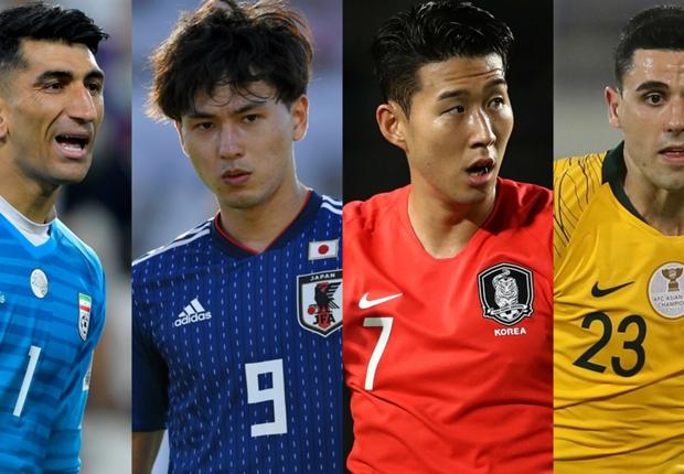 アジア杯準々決勝進出国が決定!優勝候補の日本、イラン、韓国、豪州が揃って8強へ