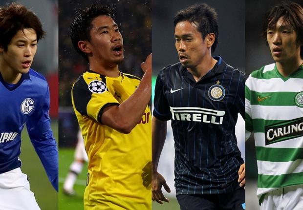 欧州で最も成功した日本人選手は? UEFA公式が特集…香川真司が4項目でトップ