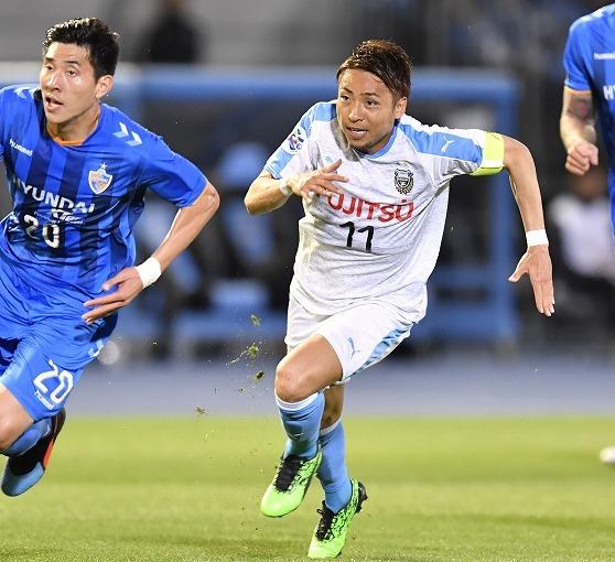 【ACL】川崎、再三の好機も蔚山に勝ち切れず2-2ドロー! グループリーグ自力突破の芽は残す