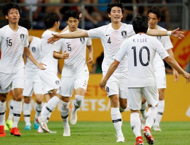 「歴史的なファイナル進出」U-20W杯で決勝へ進んだ韓国をFIFA公式が称える!99年の日本以来アジア勢で3度目の快挙