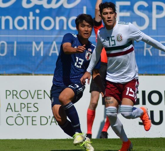 U-22日本、トゥーロン国際で初の決勝へ!! 二度のビハインドを追いつきPK戦でメキシコ撃破!