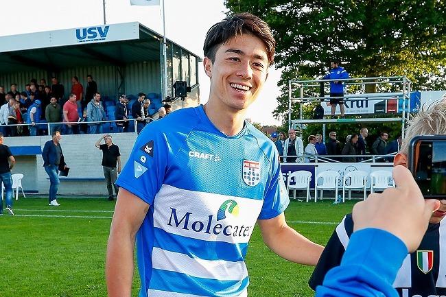 「目標は日本代表としてW杯に出ること」オランダ1部ズウォーレに日本人SBファン・ウェルメスケルケン・際が加入!