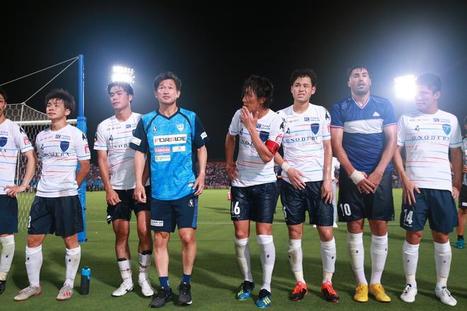 """【横浜FC】「とても幸せな時間でした」俊輔との久しぶりの""""共演""""にカズが言及"""