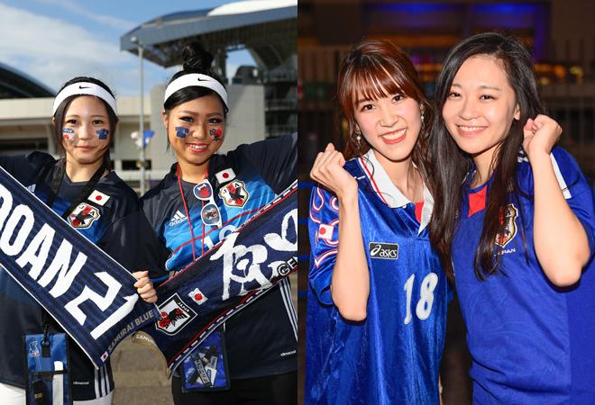 日本×モンゴルの一戦を彩った美女サポーターたちを一挙紹介!