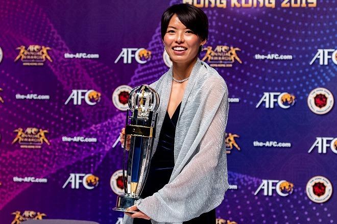 なでしこ熊谷紗希が初のアジア最優秀選手賞に選出! ソン・フンミンが受賞したのは?
