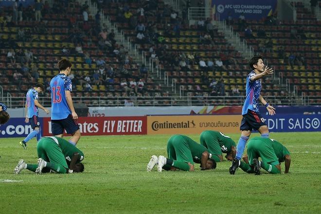 日本が敗退したU-23アジア選手権のGLが終了。ベスト4を賭け西野タイがサウジに挑む!韓国はヨルダンと対戦