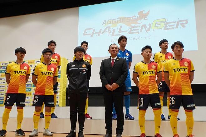 【北九州|新体制】積極果敢なサッカーの継続へ若手中心に補強。4年ぶりのJ2挑戦に小林監督は「質を上げる」と決意