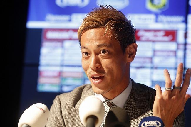 「あんな風景は人生で初めて」本田圭佑が記者会見で語った、ボタフォゴ入団の決め手とは?