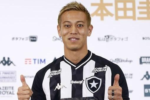 ブラジル・デビュー戦でゴールを記録した本田圭佑、クラブキャリア100得点を達成!
