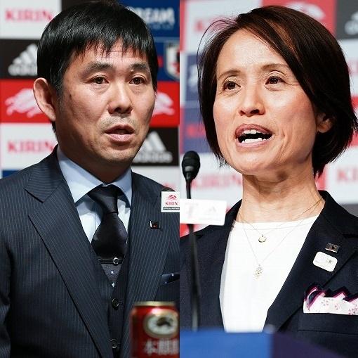 U-23森保監督となでしこ高倉監督が東京五輪延期にコメント「開催時によりパワーを持って臨めるよう」
