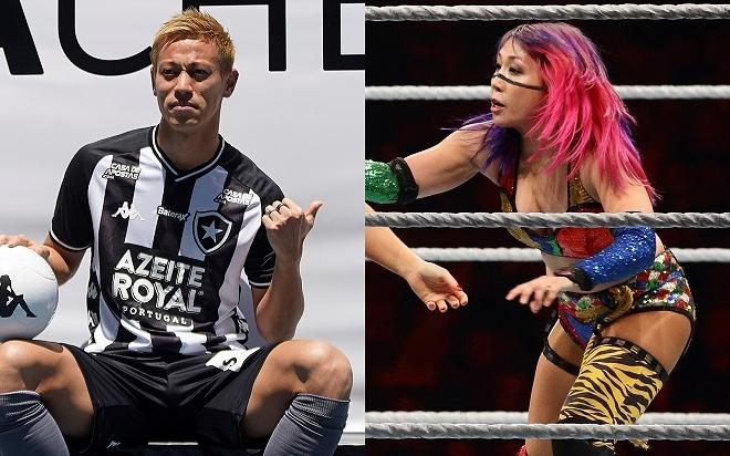 「ケイスケ本田にプロレスをさせたら…」本田圭佑に驚きの提案!? WWEスターとのコラボが話題沸騰