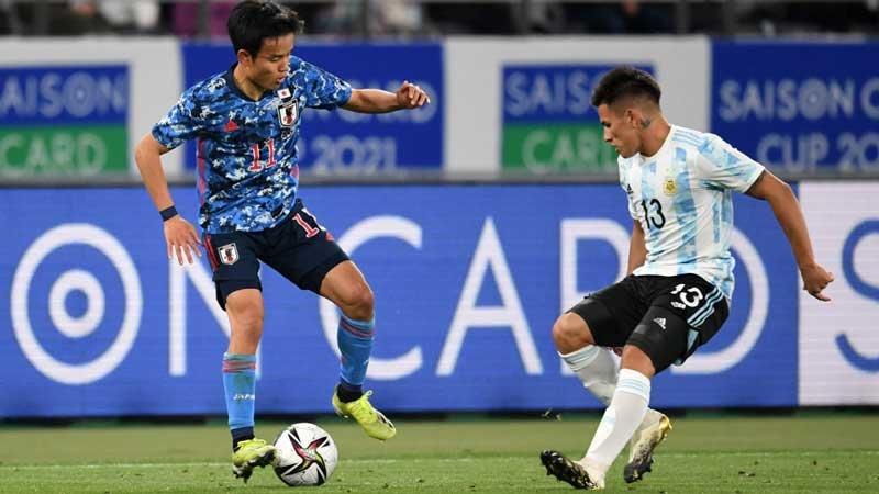 U-24日本代表が善戦するも優勝候補アルゼンチン、第一戦は盤石の勝利