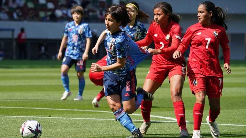 なでしこジャパン、パナマ女子代表からも7点奪取、東京五輪決勝会場で快勝